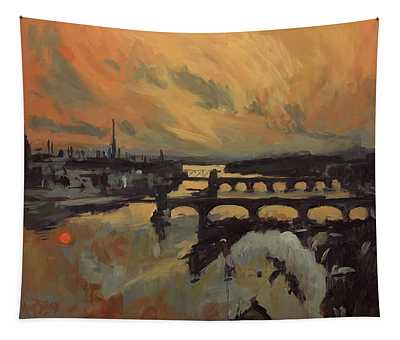 The Bridges Of Maastricht Tapestry
