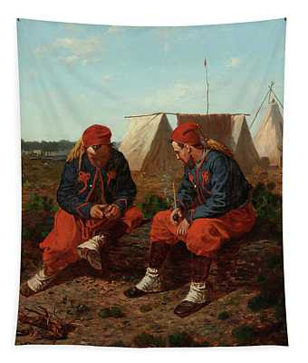 The Brierwood Pipe, 1864 Tapestry