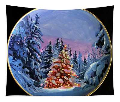 The Christmas Forest Tapestry