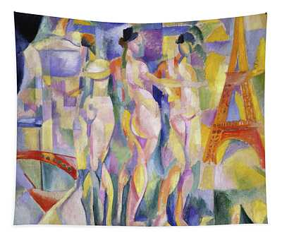 The City Of Paris, 1911 Tapestry