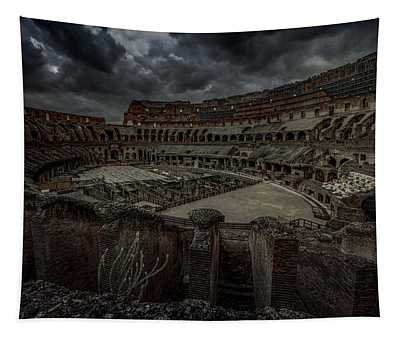 The Coliseum Interior Tapestry