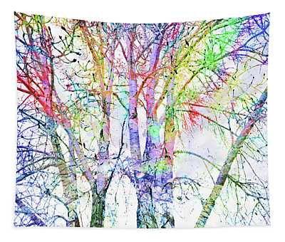 The Colour Inside The Branches Tapestry