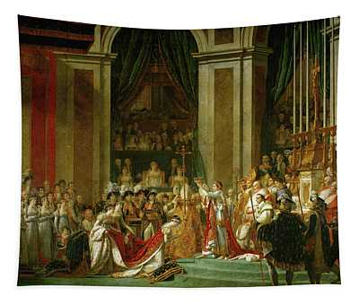The Coronation Of Napoleon Tapestry