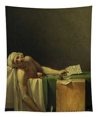 The Death Of Marat, 1793 Tapestry