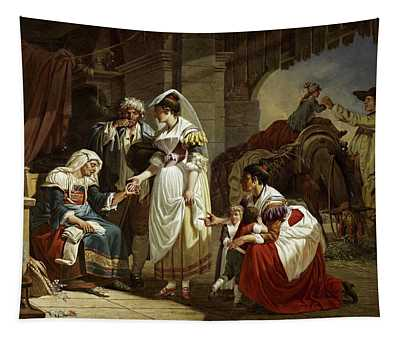 The Fortune Teller, 1785 Tapestry