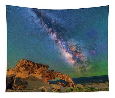 The Galaxy And The Arch Tapestry