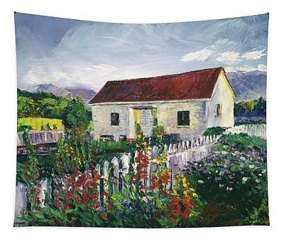 The Gardener's Workshed Tapestry