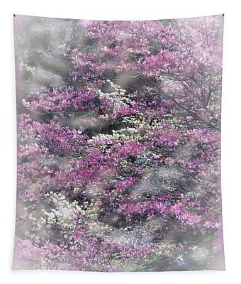 The Glory Of Dogwood Tapestry