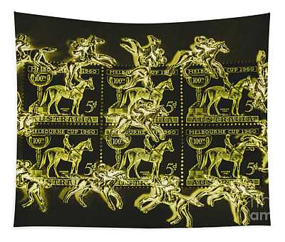The Golden Race Tapestry