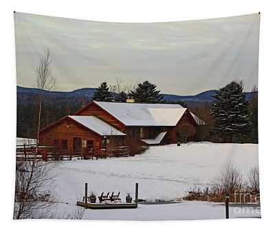 Tapestry featuring the photograph The Inn by Patti Whitten