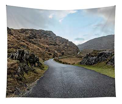 The Irish Road To The Pass  Tapestry