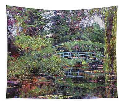 The Japanese Footbridge Tapestry