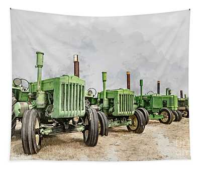 The John Deere Collection Tapestry