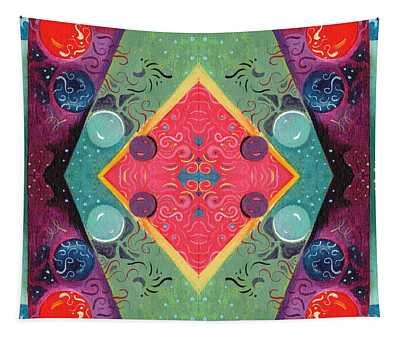 The Joy Of Design 51 Arrangement 2 Tapestry