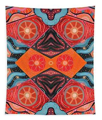The Joy Of Design 53 Arrangement 1 Tapestry