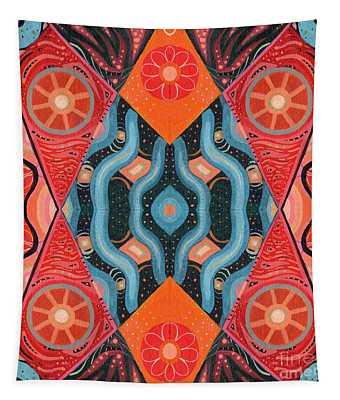 The Joy Of Design 53 Arrangement 2 Tapestry