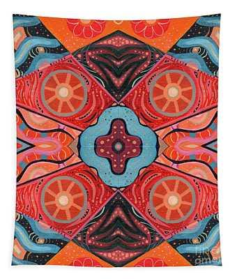 The Joy Of Design 53 Arrangement 3 Tapestry