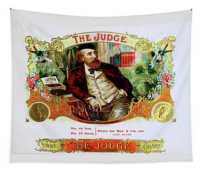 The Judge Vintage Cigars  Tapestry