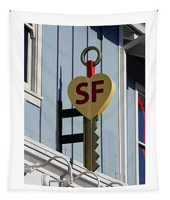 The Key To San Francisco Tapestry