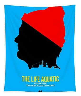 The Life Aquatic Tapestry