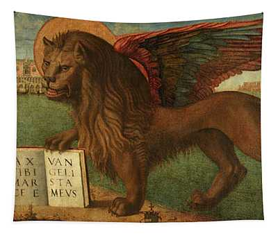 The Lion Of Saint Mark, 1516 Tapestry