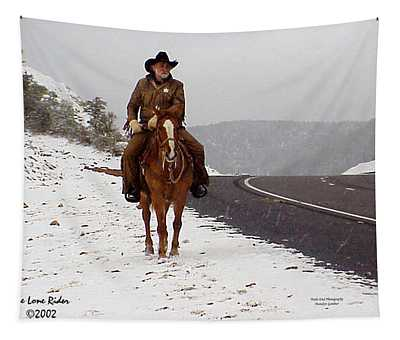 The Lone Ranger Tapestry