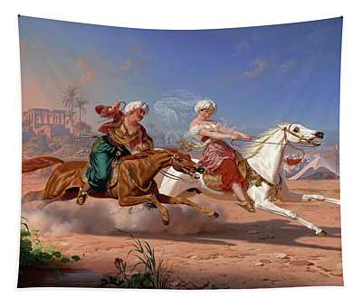 The Love Chase, 1869 Tapestry