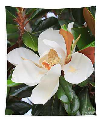 The Loveliest Magnolia Tapestry