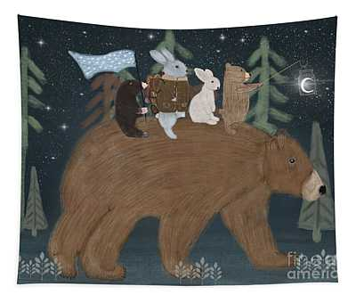 The Moon Bear Tapestry