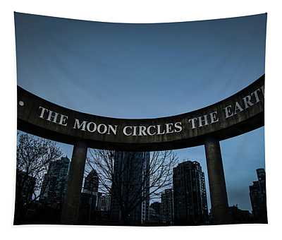 The Moon Circle Tapestry