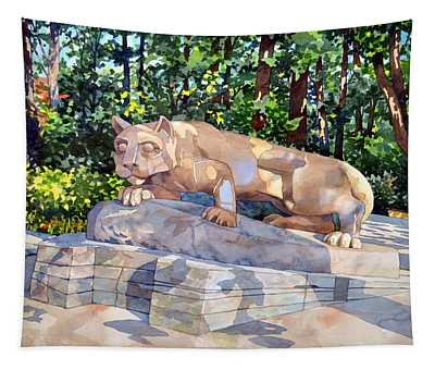 The Nittany Lion Tapestry