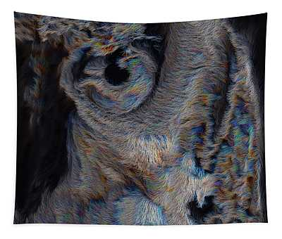 The Old Owl That Watches Tapestry