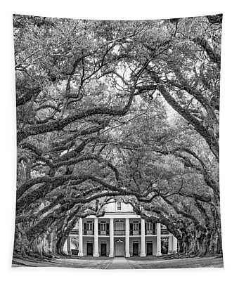 The Old South Version 3 Bw - Triptych Center Tapestry