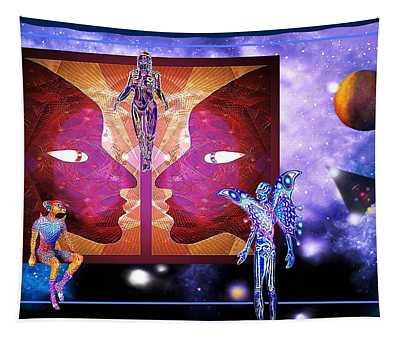 The Orange Moon Treaty Tapestry