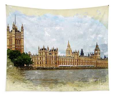 The Palace Of Westminster Tapestry