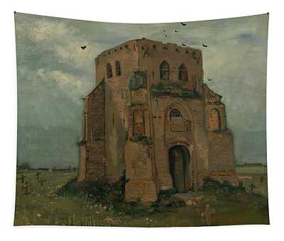 The Peasants Churchyard, The Old Church Tower Tapestry