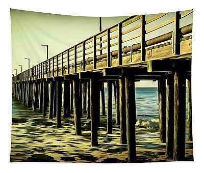 The Pier At Avila Beach  Tapestry