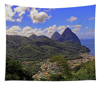 The Pitons Tapestry