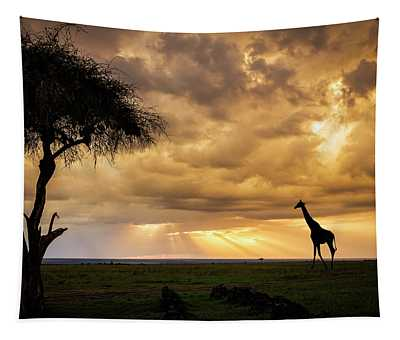 The Plains Of Africa Tapestry