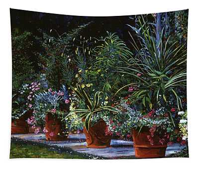 The Potted Garden Tapestry
