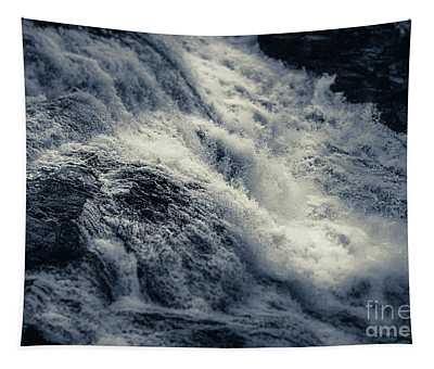 Tapestry featuring the photograph The Power Of Water In Motion by Matthew Nelson