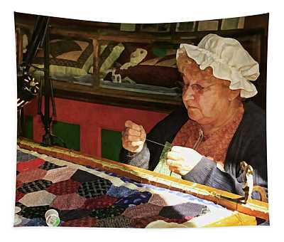 The Quilt Maker Tapestry