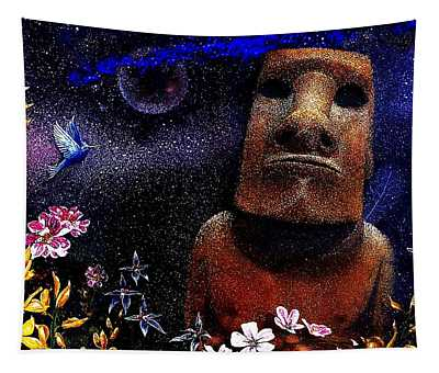 The Rapa Nui Enigma  Tapestry