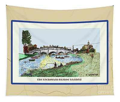 The Richmond Bridge V2 Tapestry