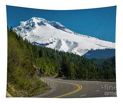 The Road To Mt. Hood Tapestry