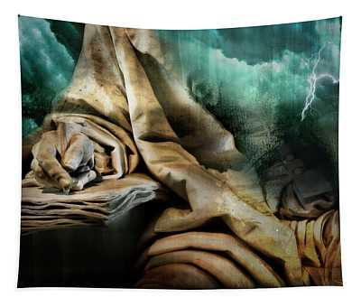 The Scribe And The Storm Tapestry