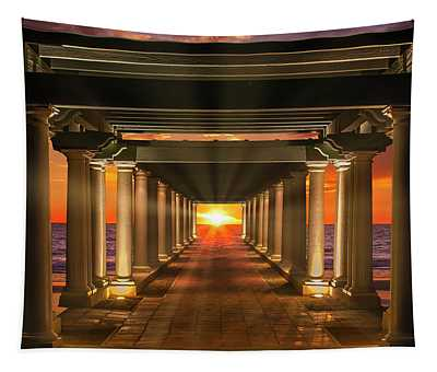 The Sea Colonnade Tapestry