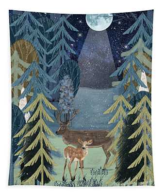 The Secret Forest Tapestry