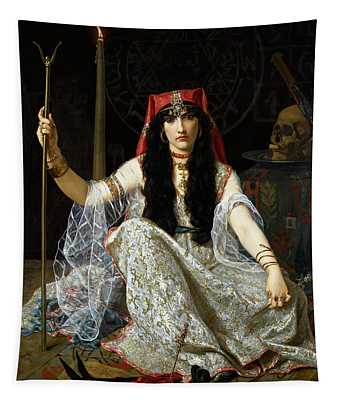 The Sorceress, 1883 Tapestry