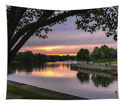 The Sunset Blues Tapestry